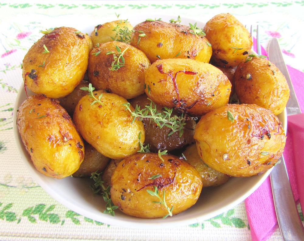 Garnitura de Cartofi Noi cu Unt poza 5