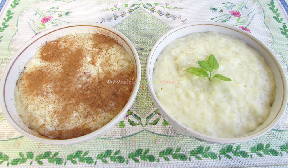 Orez cu Lapte cu Aroma de Lamaie poza 7