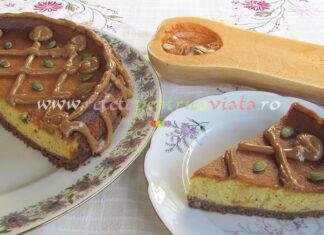 Cheesecake cu Dovleac si Caramel poza 12