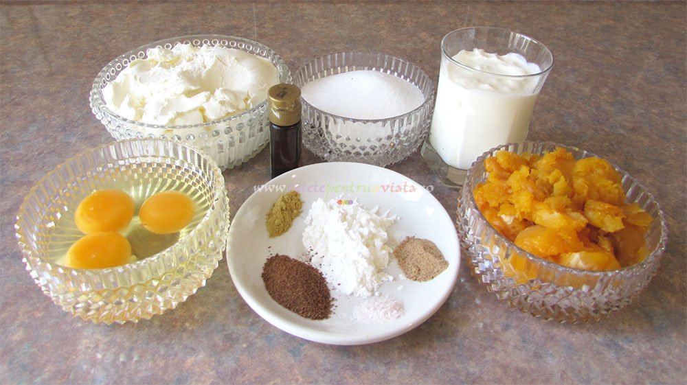 Cheesecake cu Dovleac si Caramel poza 3