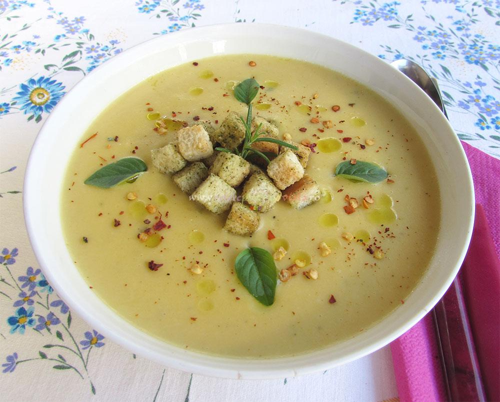 Supa Crema de Usturoi Copt poza 7