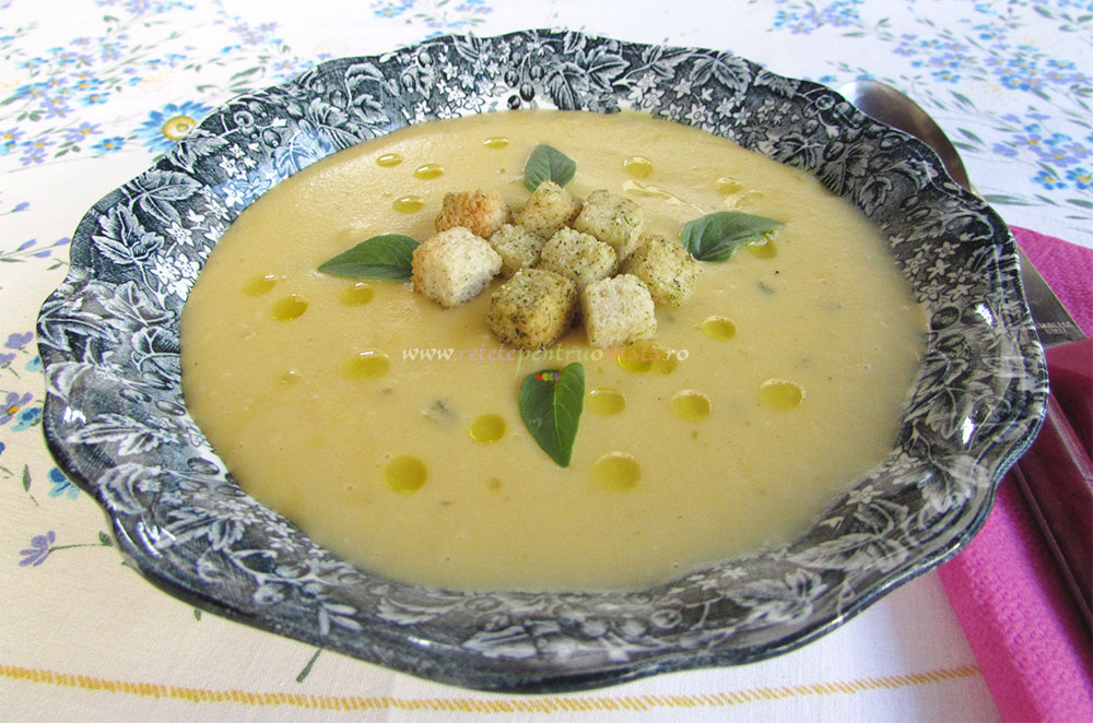Supa Crema de Usturoi Copt poza 8
