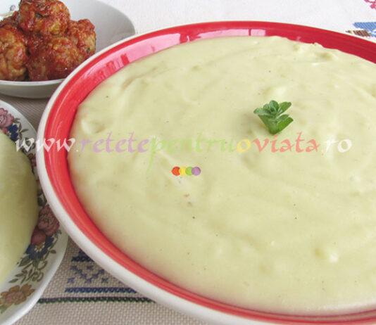 Piure de Cartofi cu Lapte si Parmesan poza 1