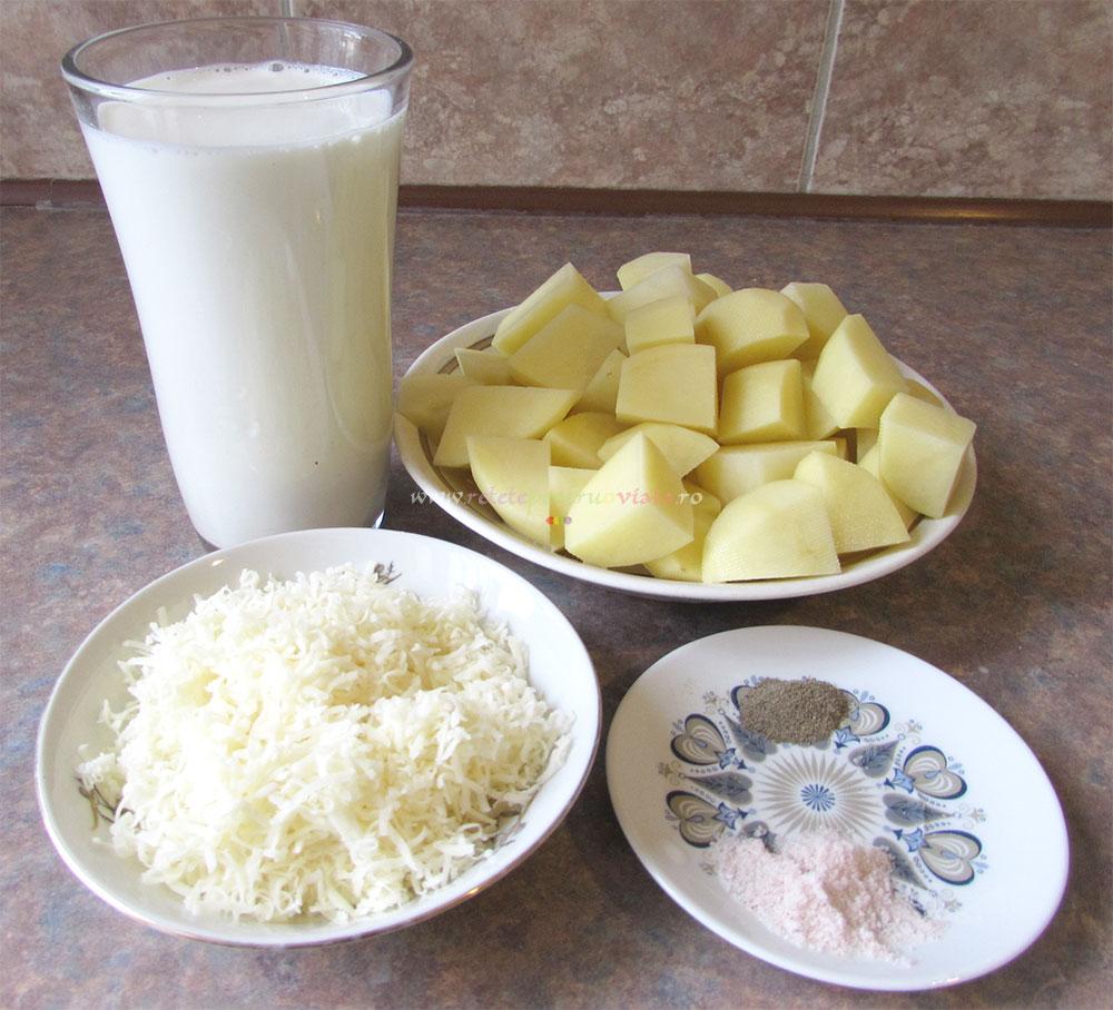 Piure de Cartofi cu Lapte si Parmesan poza 2