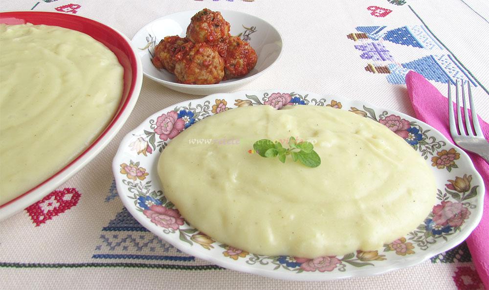 Piure de Cartofi cu Lapte si Parmesan poza 5