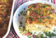 Cartofi Gratinati cu Sos Bechamel poza 1