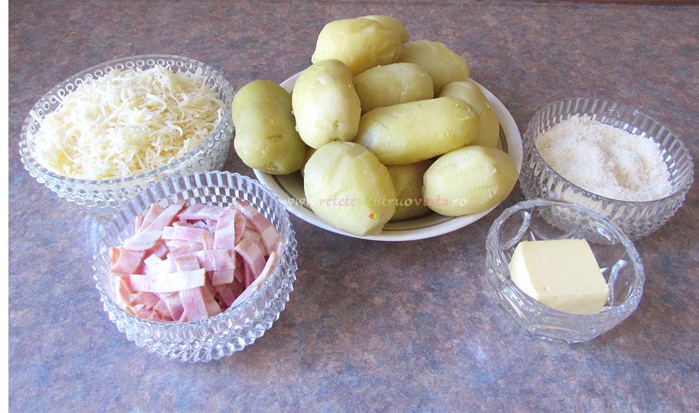 Cartofi Gratinati cu Sos Bechamel poza 2