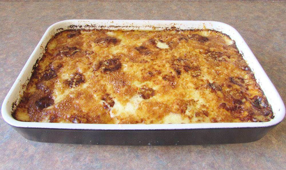 Cartofi Gratinati cu Sos Bechamel poza 8