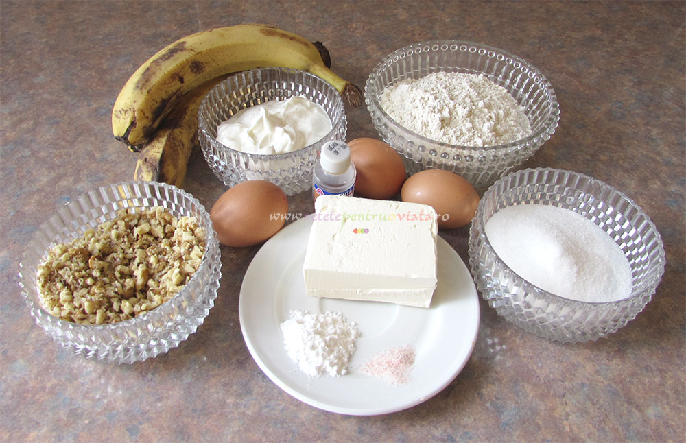 Prajitura cu Banane si Nuci poza 10