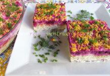 Salata Suba cu Peste Marinat poza 1