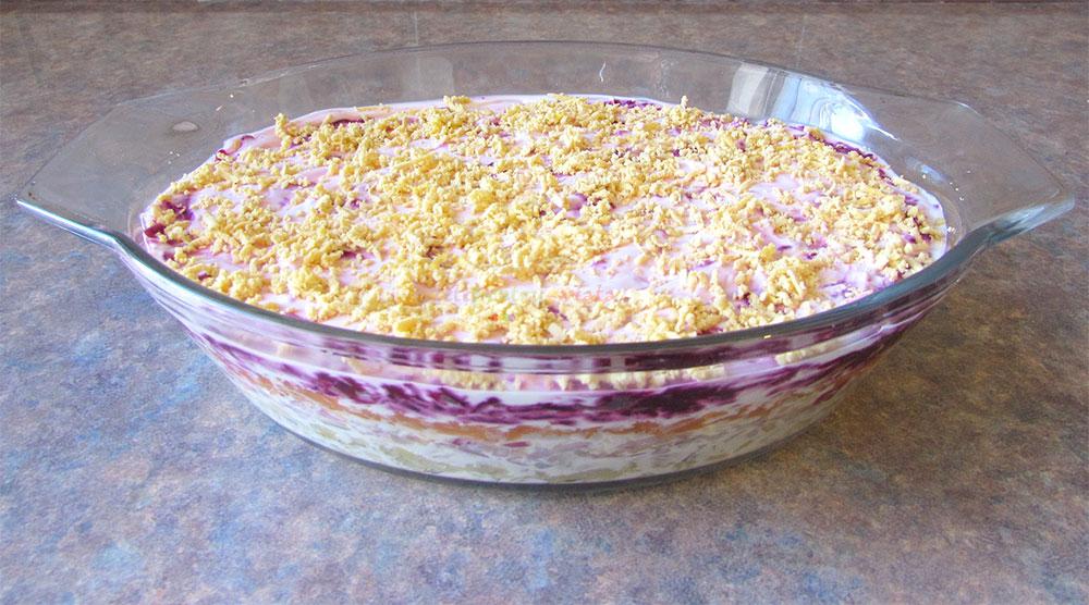 Salata Suba cu Peste Marinat poza 7