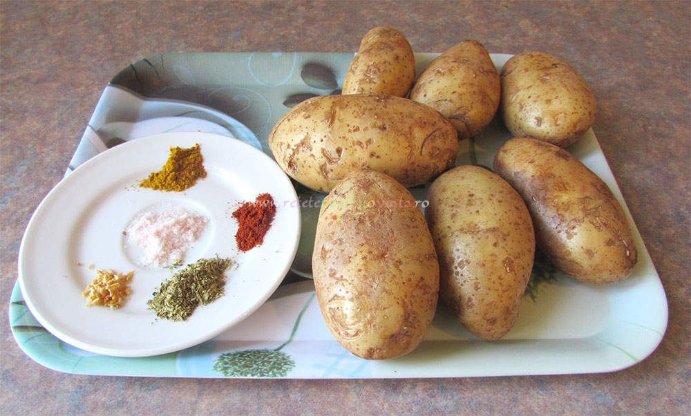 Cartofi Pai fara Ulei la Cuptor poza 3