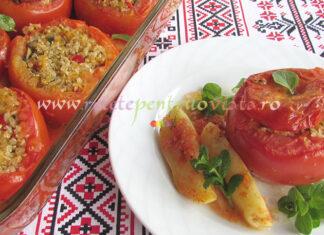Rosii Umplute cu Quinoa si Ciuperci poza 1
