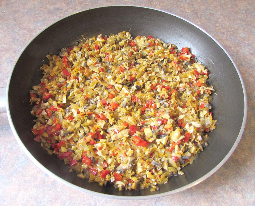 Rosii Umplute cu Quinoa si Ciuperci poza 3
