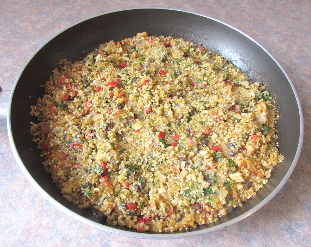 Rosii Umplute cu Quinoa si Ciuperci poza 4