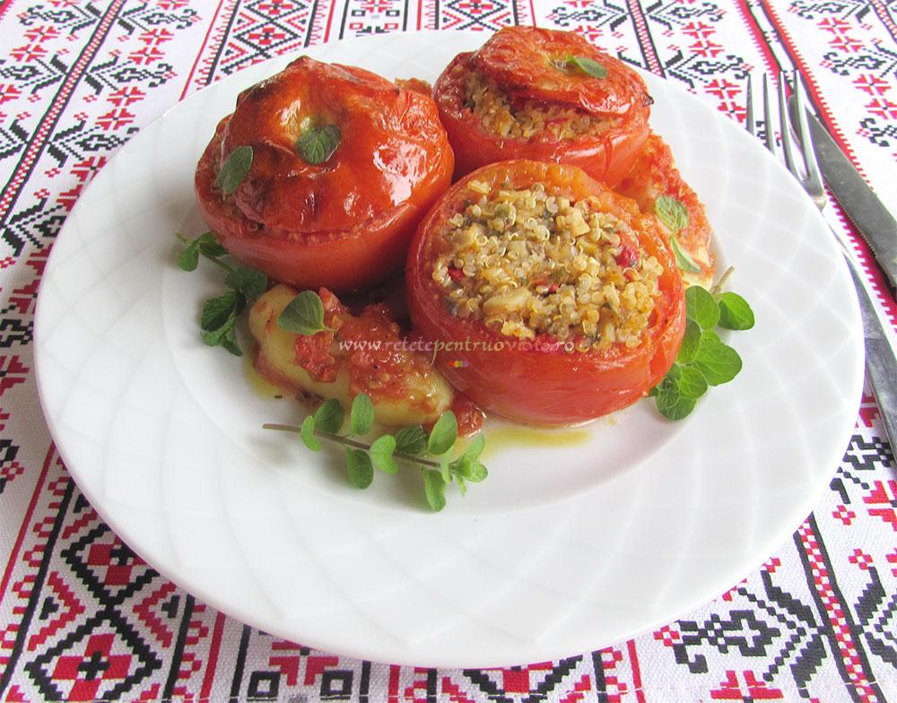 Rosii Umplute cu Quinoa si Ciuperci poza 8