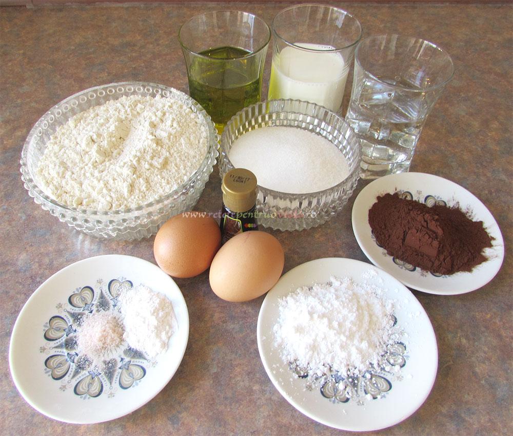 Briose de Casa cu Vanilie si Cacao poza 1