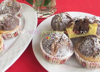 Briose de Casa cu Vanilie si Cacao poza 8