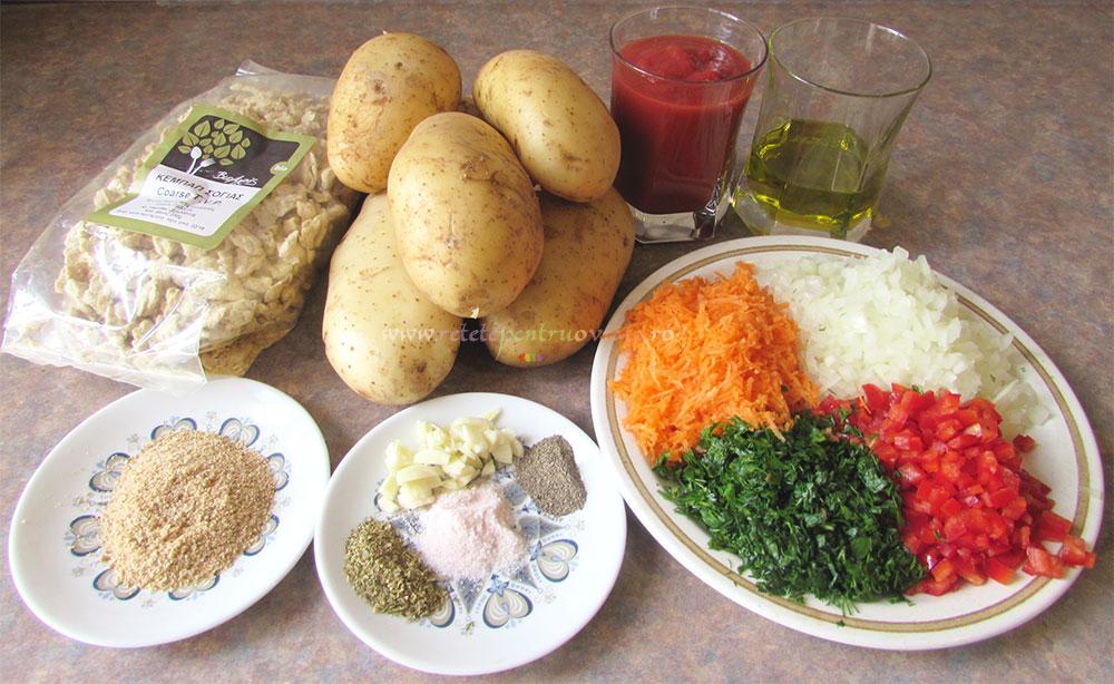Musaca de Post cu Cartofi si Soia poza 2