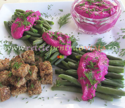Salata de Fasole Verde si Sfecla poza 1