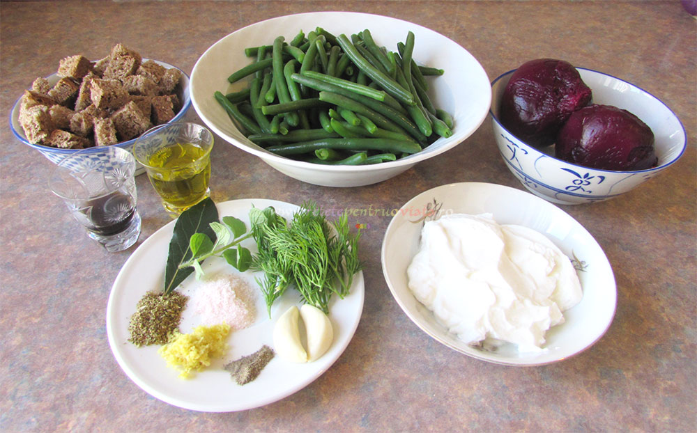 Salata de Fasole Verde si Sfecla poza 7