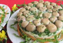 Salata Poienita cu Ciuperci Marinate poza 1
