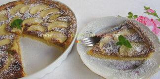 Tarta cu Mere si Crema de Migdale poza 1
