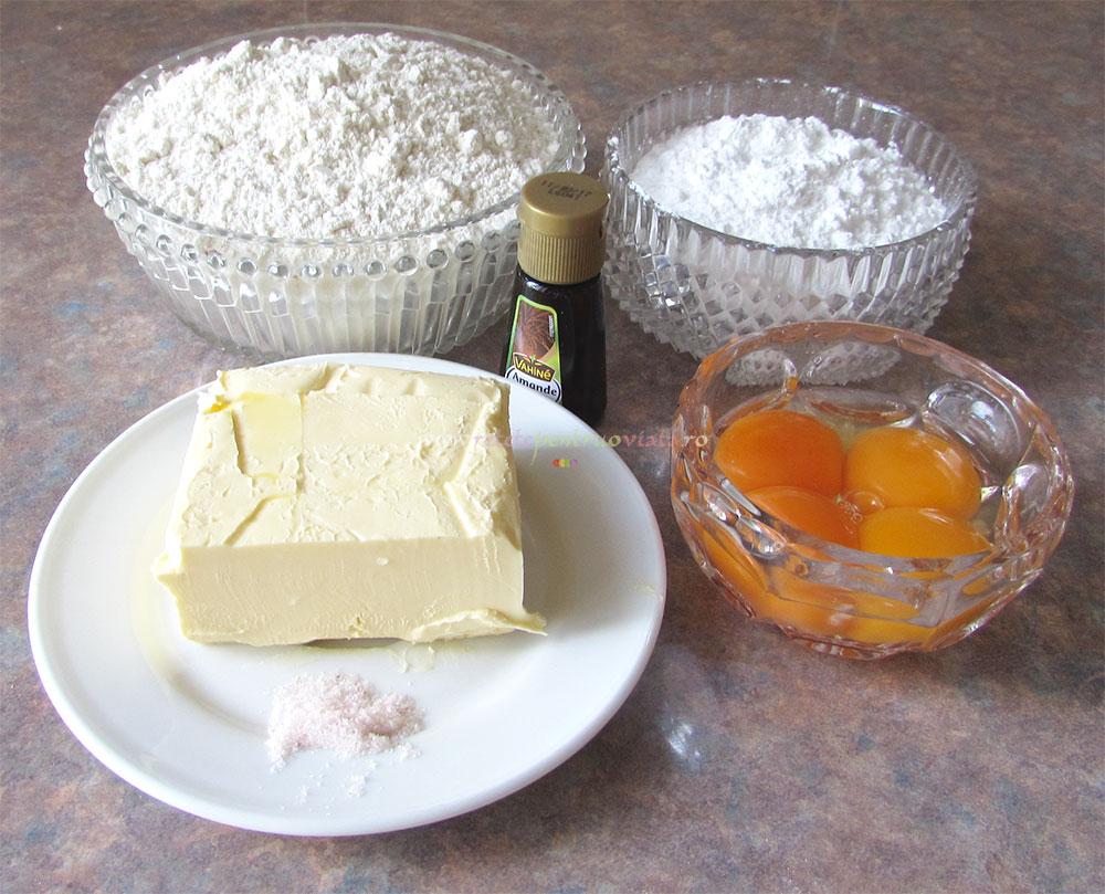 Tarta cu Mere si Crema de Migdale poza 2