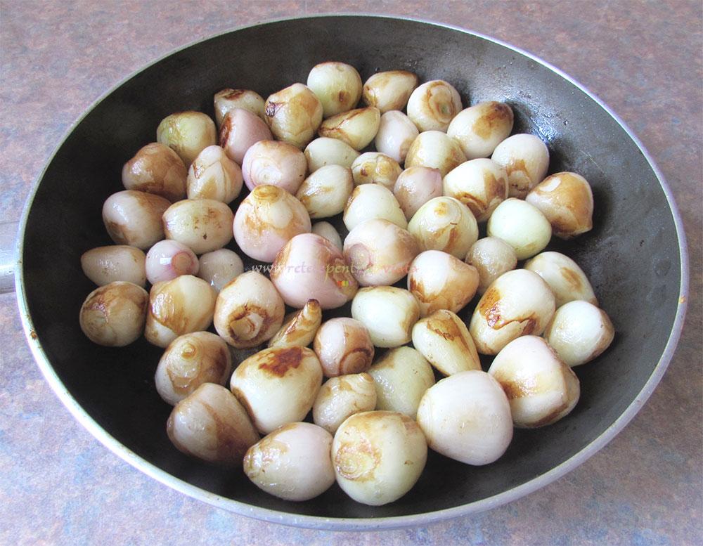 Tocanita de Ciuperci cu Ceapa poza 3