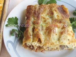 Cannelloni cu Carne si Ciuperci poza 1