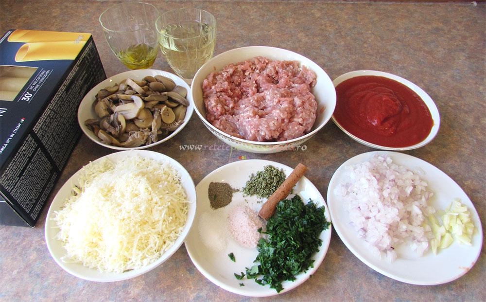 Cannelloni cu Carne si Ciuperci poza 2