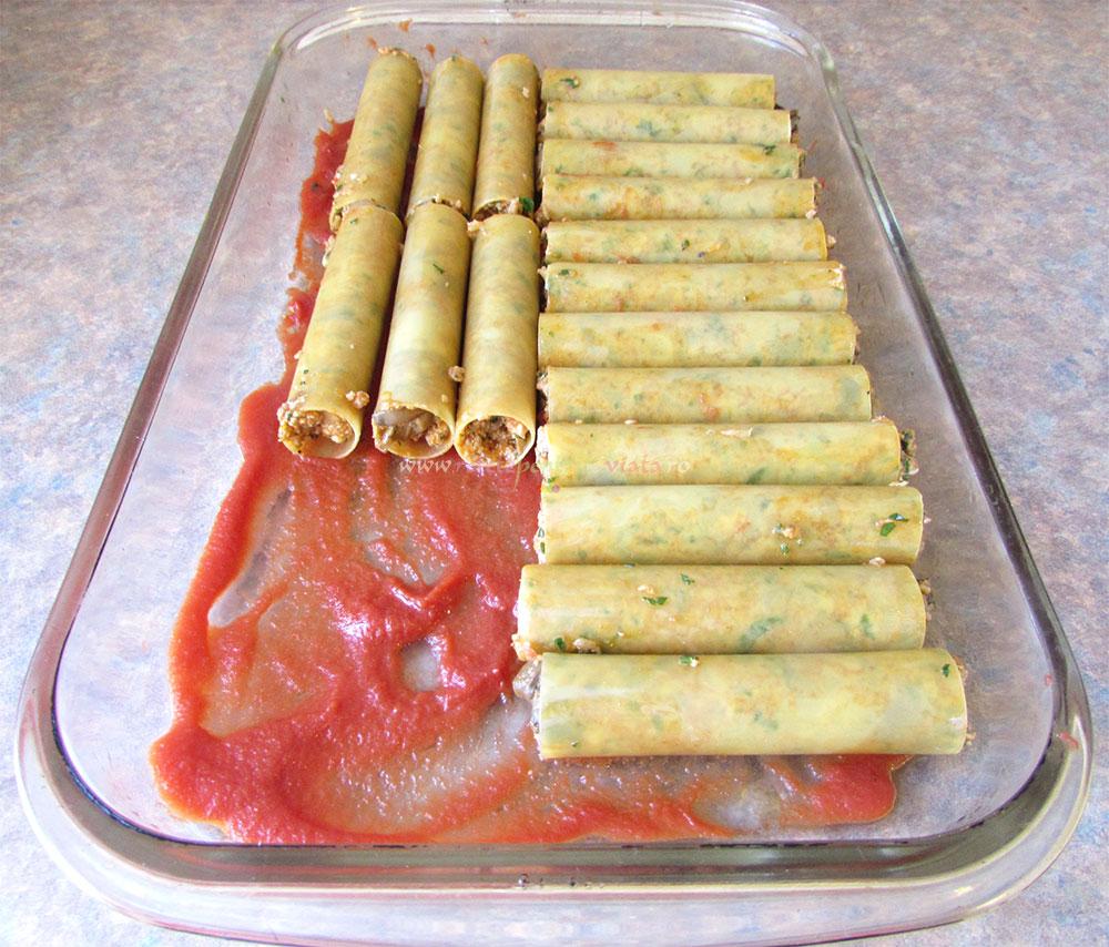 Cannelloni cu Carne si Ciuperci poza 5