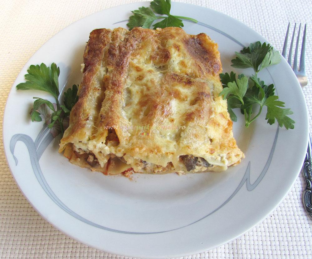 Cannelloni cu Carne si Ciuperci poza 8