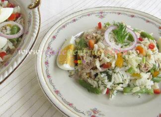 Salata de Orez cu Ton si Legume poza 1