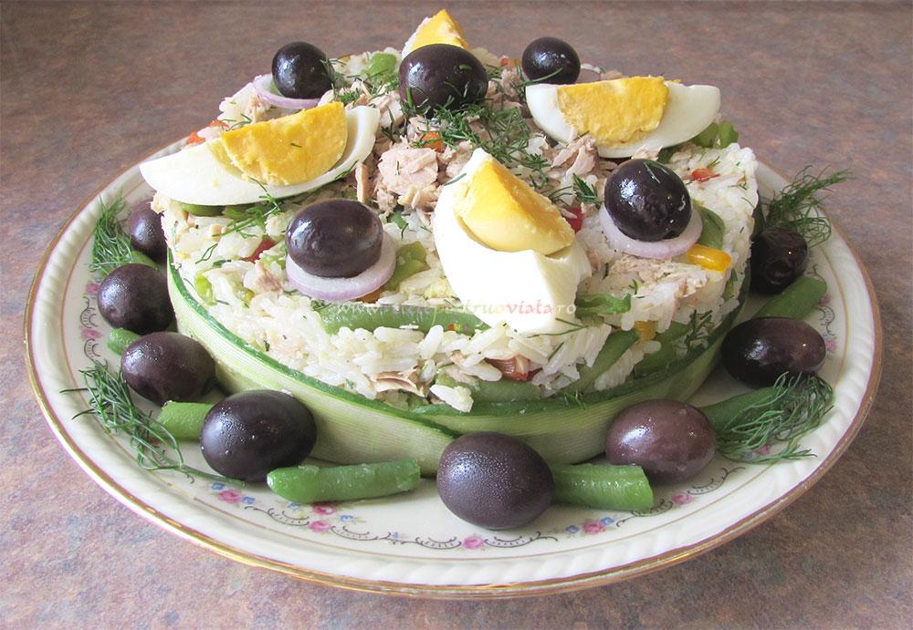Salata de Orez cu Ton si Legume poza 5