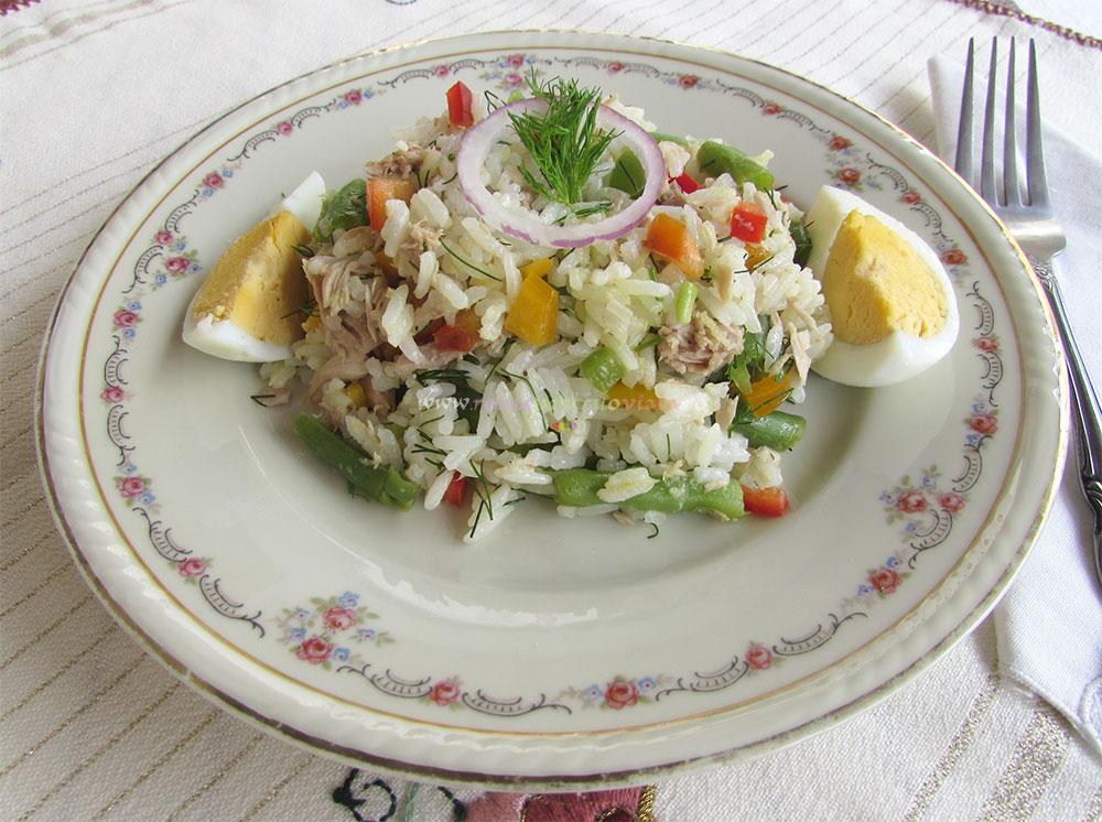 Salata de Orez cu Ton si Legume poza 7