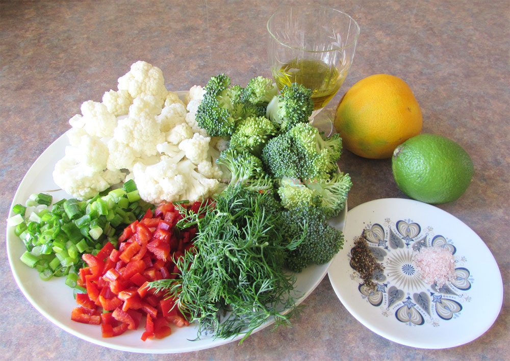 Salata de Broccoli si Conopida - Tabbouleh poza 2