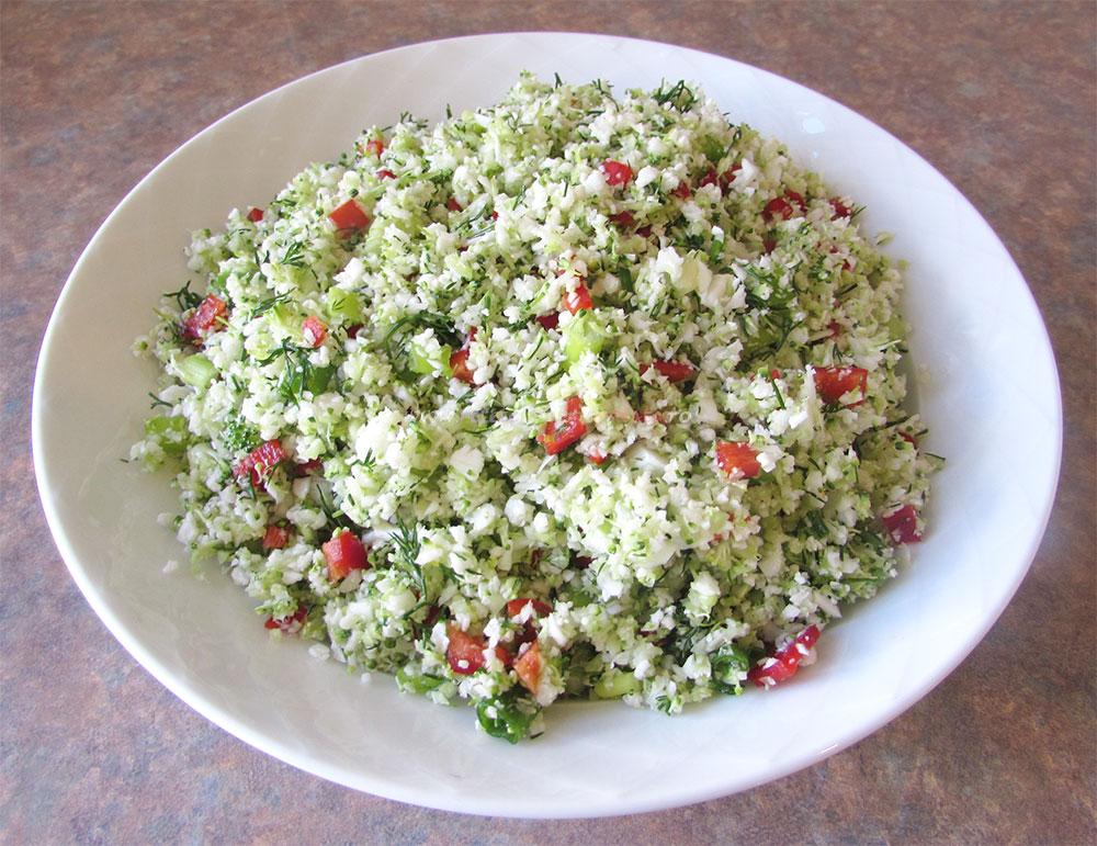 Salata de Broccoli si Conopida - Tabbouleh poza 3