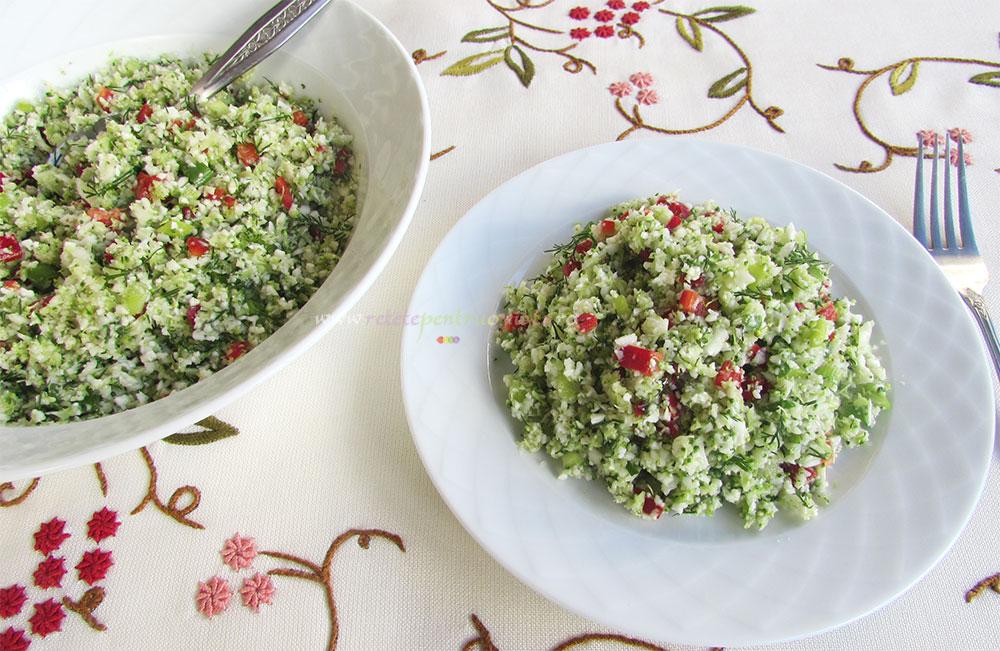 Salata de Broccoli si Conopida - Tabbouleh poza 4