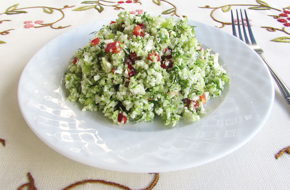 Salata de Broccoli si Conopida - Tabbouleh poza 5